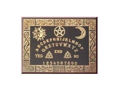 Tavola ouija celtica black studio negozio esoterico il tempio di iside palermo tutto l - La tavola di ouija ...